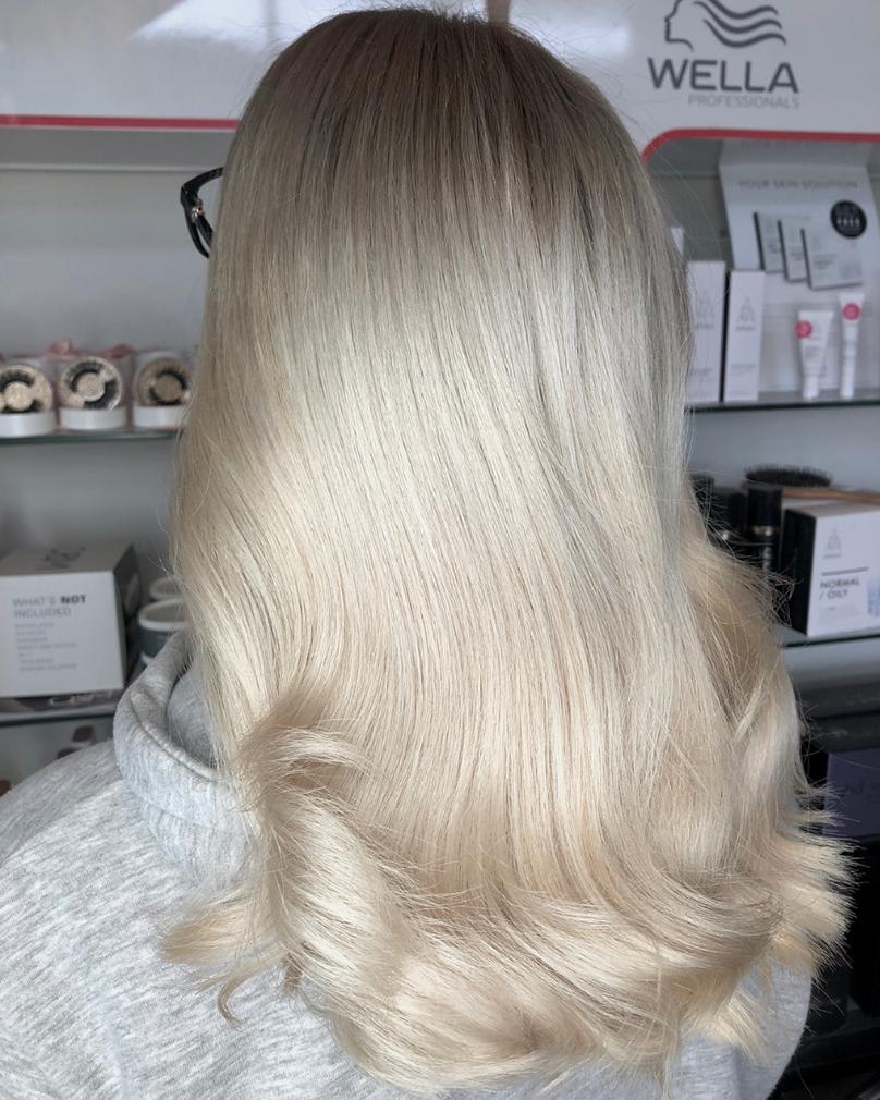 Blonde - post-service